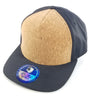PB261 Pit Bull Blank Cork Cambridge Regular Snap back Hat [Cork/Black]