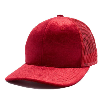 PB233R Pit Bull Cambridge Velvet Trucker Hat[Red]
