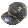 PB135 Pit Bull 5 Panel Camper Hats [Green Camo]