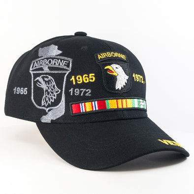 MI347 1965-1972 Airborne  Vietnam Military Caps Wholesale [Black]