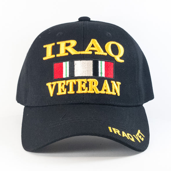 MI709 Iraq Veteran Military Caps Wholesale [Black]