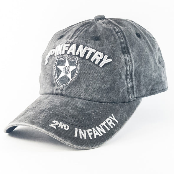 MI182 2nd Infantry  Military Caps Wholesale [Multi Color]