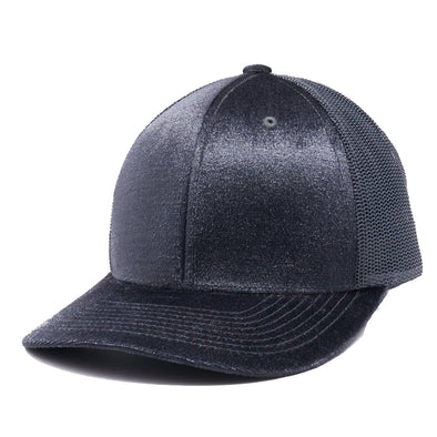 PB233R Pit Bull Cambridge Velvet Trucker Hat[Charcoal]