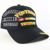 MI76 Vietnam Veteran Military Caps Wholesale [Black]
