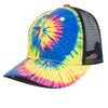 HC1956 Tie Dye Curved Mesh Back [Multi Color]