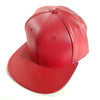 PB158 Pit Bull Leather Snapback Hats  [Red]