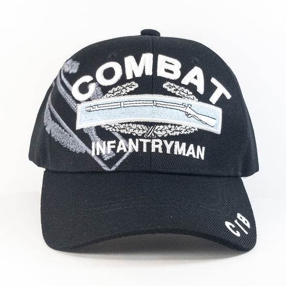 MI469 Combat Infantryman Military Caps Wholesale [Black]