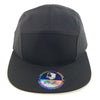 PB135 Pit Bull 5 Panel Camper Hats [Black]