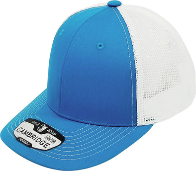 PB222J Pit Bull Cambridge  KIds Trucker Hat [Aqua/White]