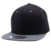 PB105 Pit Bull Cotton Snapback [Black/Charcoal]