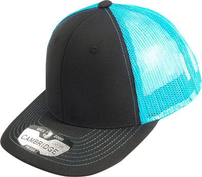 PB222J Pit Bull Cambridge  KIds Trucker Hat [Black/N.Blue]