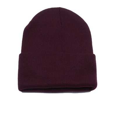 Pit Bull PB179 Cuffed Knit Beanie Hats Wholesale [Burgundy]