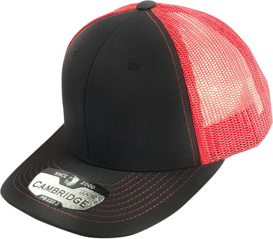 PB222J Pit Bull Cambridge  KIds Trucker Hat [Black/Red]