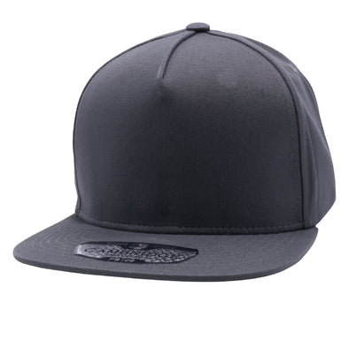 PB106 Pit Bull 5 Panel Cotton Snapback Hats Wholesale [Charcoal]