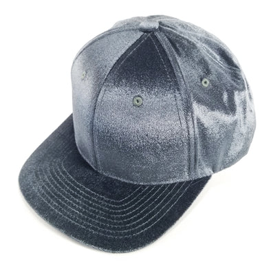 PB233 Pit Bull Cambridge Velvet Snap Back Hat[Charcoal]