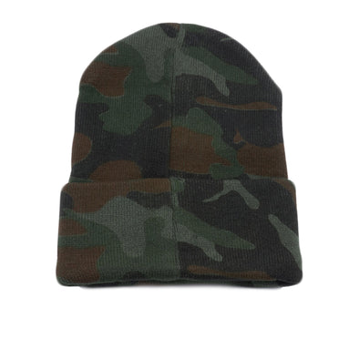 Pit Bull PB179 Cuffed Knit Beanie Hats Wholesale [G.Camo]