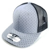 PB120C Pit Bull Polkadot 6 Panel Mesh Trucker Hats [L.Grey/Black]