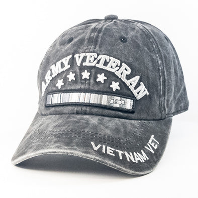 MI270 Army Veteran and Vietnam Vet Military Hats Wholesale [Multi Color]