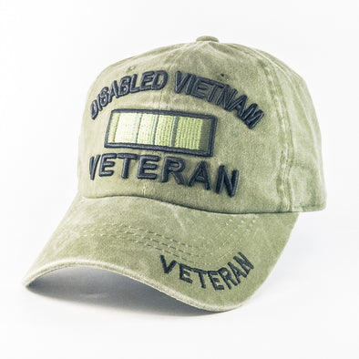 MI483 Disabled Vietnam Veteran Military Caps Wholesale [Multi Color]