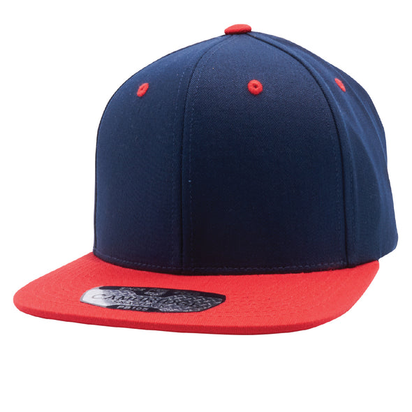 PB105 Pit Bull Cotton Snapback Hats Wholesale [Navy/Red]