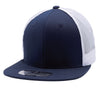 PB107 Cotton Trucker Hats [Navy/White]