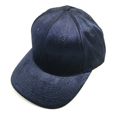 PB233 Pit Bull Cambridge Velvet Snap Back Hat[Navy]