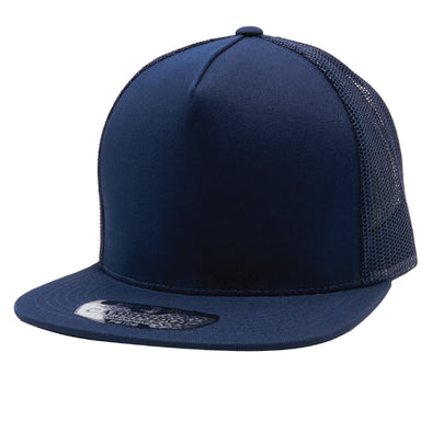 PB108 Pit Bull 5 Panel Cotton Trucker Hats  [Navy]