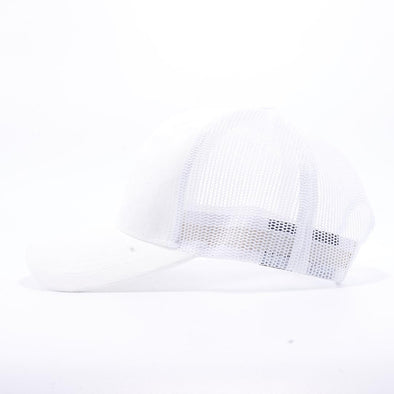 Pit Bull Suede Trucker Hat Wholesale [White]