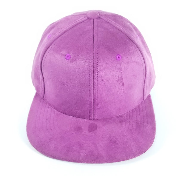 PB149 Pit Bull Suede Snapback Hats [Purple]