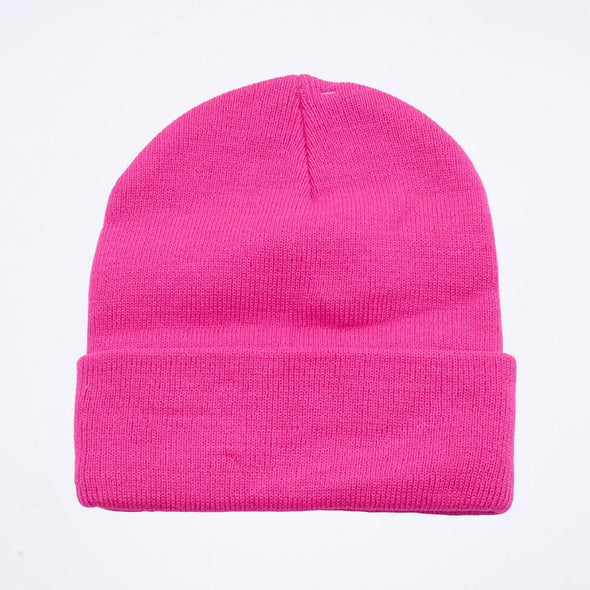 Pit Bull PB179 Cuffed Knit Beanie Hats Wholesale [H.Pink]