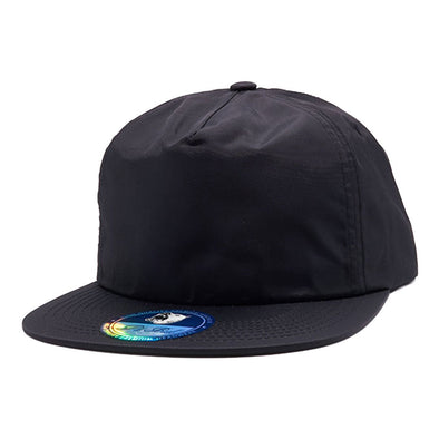 Pb196 Pit Bull Unstructured 5 Panel Nylon Hats Wholesale [Black] Dad Hat