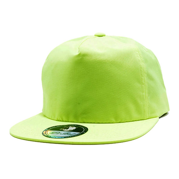 Pb196 Pit Bull Unstructured 5 Panel Nylon Hats Wholesale [Neon Green] Dad Hat