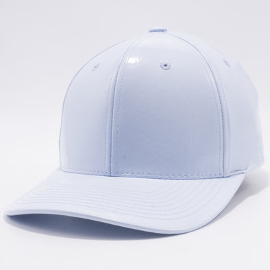 PB232R Cambridge Enamel PU Snap Back Hat [Lilac]