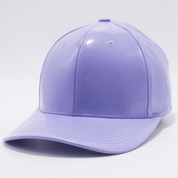 PB232R Cambridge Enamel PU Snap Back Hat [Lavender]