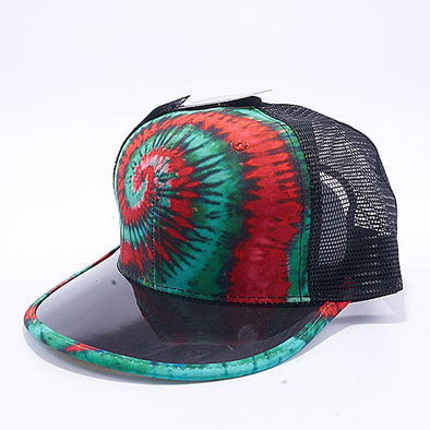Pit Bull Tie Dye Anti UV Visor Snapback Hats Wholesale [Mexico 1]