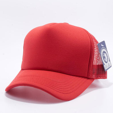 Pit Bull 5 Panel Foam Trucker Hats Wholesale [Red]