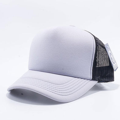 Pit Bull 5 Panel Foam Trucker Hats Wholesale [L.Grey/Black]