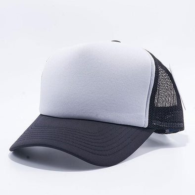 Pit Bull 5 Panel Foam Trucker Hats Wholesale [Black/L.Grey/Black]