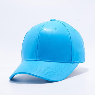 Pit Bull Aqua PU Leather Baseball Hat Cap Wholesale
