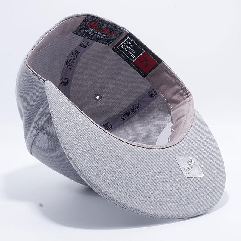 1783f9973a1 Pit Bull Acrylic Flat Fitted Hats Wholesale  L.Grey  – Pit Bull Cap