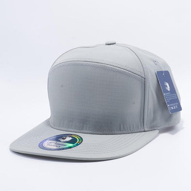 Pit Bull Waterproof Oxford Hybrid Snapback Hats Wholesale [L.grey]