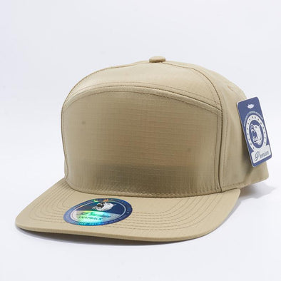 Pit Bull Khaki Oxford Hybrid Panel Snapback Hats Whoelsale