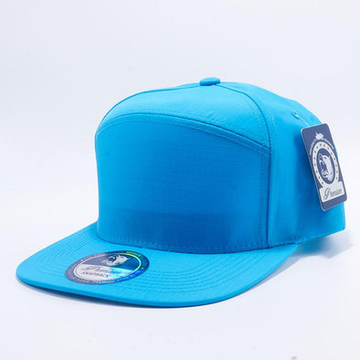 Pit Bull Aqua Oxford Hybrid Panel Snapback Hats Whoelsale