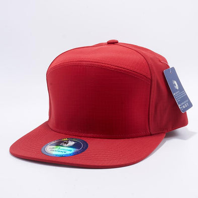 Pit Bull Red Oxford Hybrid Panel Snapback Hats Whoelsale
