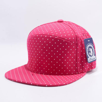 Pit Bull Polkadot Strapback Hats Wholesale [H.pink/white] Adjustable