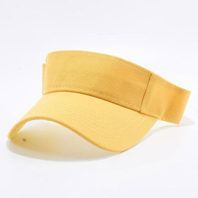 Pit Bull Blank Visor Hats Wholesale [Gold]