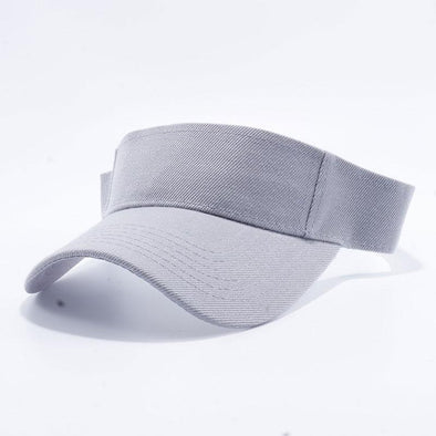 Pit Bull Blank Visor Hats Wholesale [L.Grey]