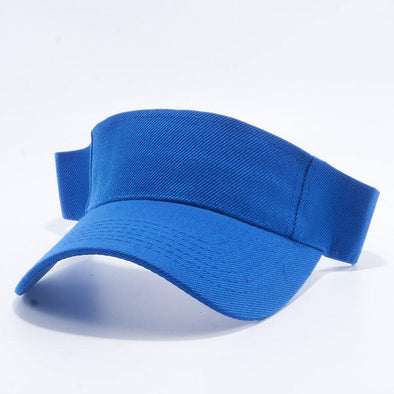 Pit Bull Blank Visor Hats Wholesale [Royal]