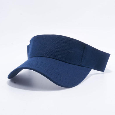 Pit Bull Blank Visor Hats Wholesale [Navy]