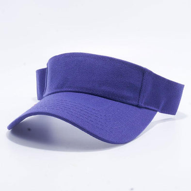 Pit Bull Blank Visor Hats Wholesale [Purple]